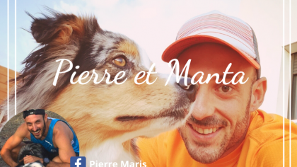 Pierre et Manta, deux fans de sports de traction