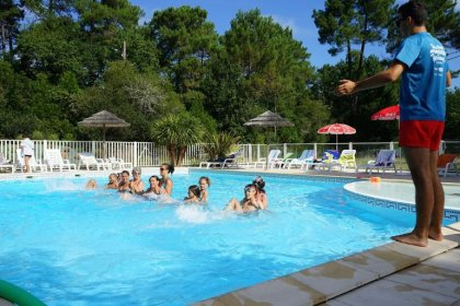 Camping Le Médoc Bleu - Flower Campings Camping acceptant les chiens ok chien Carcans