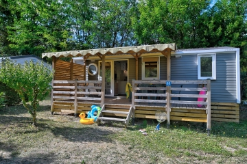Camping la Chataigneraie Camping acceptant les chiens ok chien Anneyron